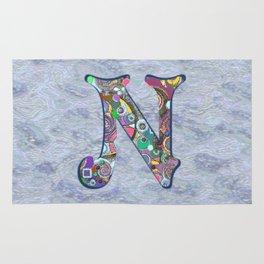 The Letter N Rug