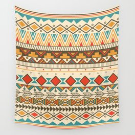 Aztec pattern 03 Wall Tapestry