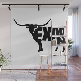 Texas Longhorn Wall Mural