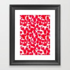 Platelets Framed Art Print