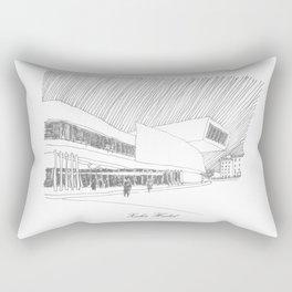 Zaha Hadid Rectangular Pillow