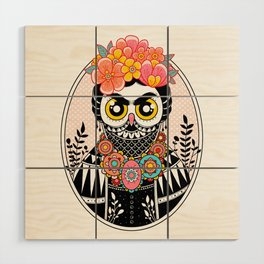 Self-Portrait Wood Wall Art