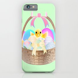 """Easter Chick"" iPhone Case"