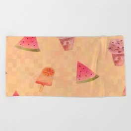 Sweet Treats Beach Towel