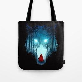 Big Bad Wolf (dark version) Tote Bag