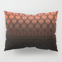 Future Scales Red Pillow Sham