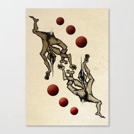 Jugglers Canvas Print