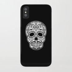 Mexican Skull - Black Edition Slim Case iPhone X