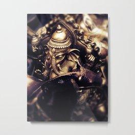 Ganesha - Hindu Diety Metal Print