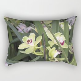 Longwood Gardens Orchid Extravaganza 16 Rectangular Pillow