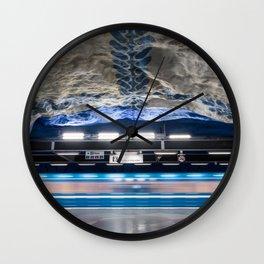 T-Centralen Metro Station in Stockholm, Sweden VII Wall Clock