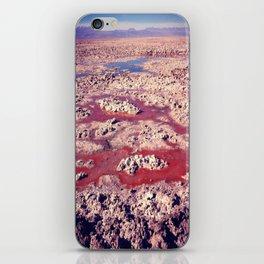 Salt Flats. iPhone Skin