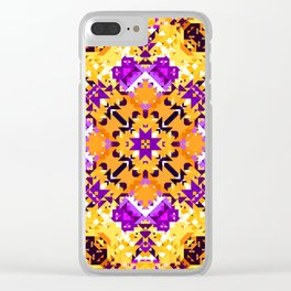 Abstract Design Clear iPhone Case