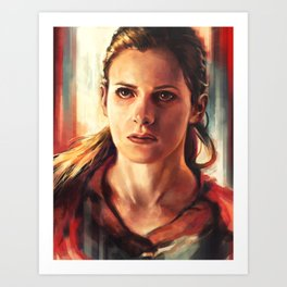 Molly Hooper Art Print
