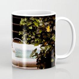 Secret Garden with Frog Prince Fountain Coffee Mug