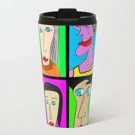 Portraits de femmes Travel Mug