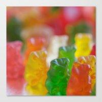 bears Canvas Prints featuring Bears by Kim Fearheiley Photography