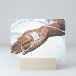 iv tubes Mini Art Print