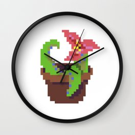 Tentacle Plant Wall Clock