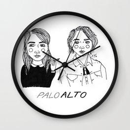 Palo Alto Wall Clock