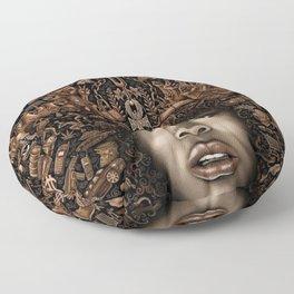 ERYKAH BADU--ART Floor Pillow