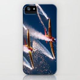 Twister Aerobatics Team iPhone Case