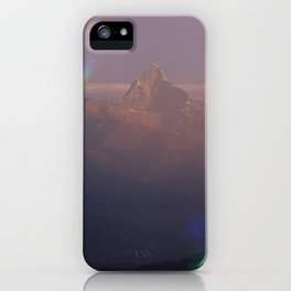 The Machapuchare Shine iPhone Case