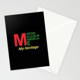 Martin Malcolm Mandela & Me, My Heritage Stationery Cards