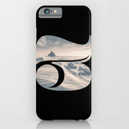 Nr. 3 | Numbers with a View | Typography Letter Art iPhone Case