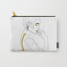 Lemon Girl Carry-All Pouch