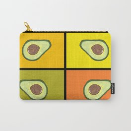 Tiled Avocado Carry-All Pouch