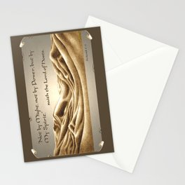 """""""Not By Might"""" Stationery Cards"""