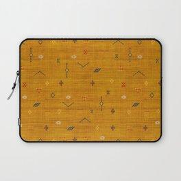 Cactus Silk In Gold Laptop Sleeve