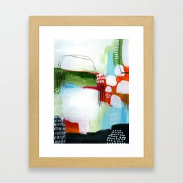 Brighter Days Framed Art Print