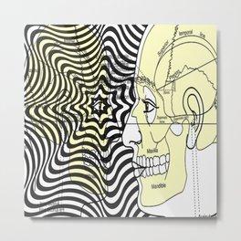 Optical Delusion Metal Print