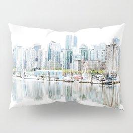 Vancouver Skyline Pillow Sham