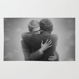 John and Sherlock Rug