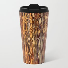 Grunge Wood Travel Mug