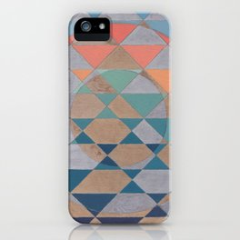 Circles and Triangles iPhone Case