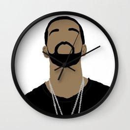 Drake Cartoon2 Wall Clock