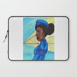 Follow me into the Blue- II Laptop Sleeve