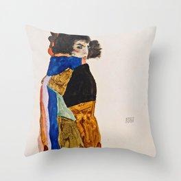 Egon Schiele - Moa Throw Pillow