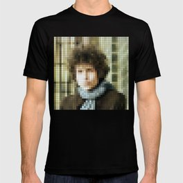 Bob Dylan - Blonde on Blonde - Pixel T-shirt