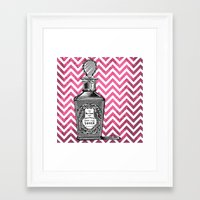 arsenal Framed Art Prints featuring Lady's Arsenal - The Perfume by Ashley Anonymous