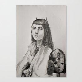 Hereesia of the Varghoss Canvas Print