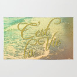 Beach Waves I - C'est La Vie Rug