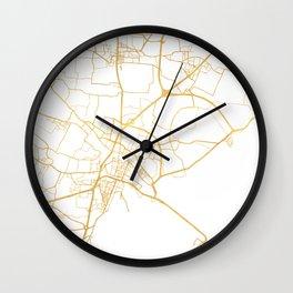 VENICE ITALY CITY STREET MAP ART Wall Clock