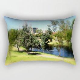 Adelaide Torrens River and CBD Rectangular Pillow