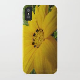 yellow feeling iPhone Case