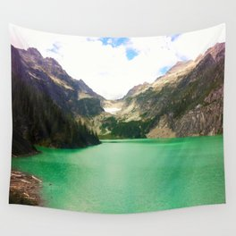 Turquoise Escape Wall Tapestry